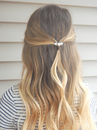 5 Ways To Style Your Hair With Pearl Bobby Pins