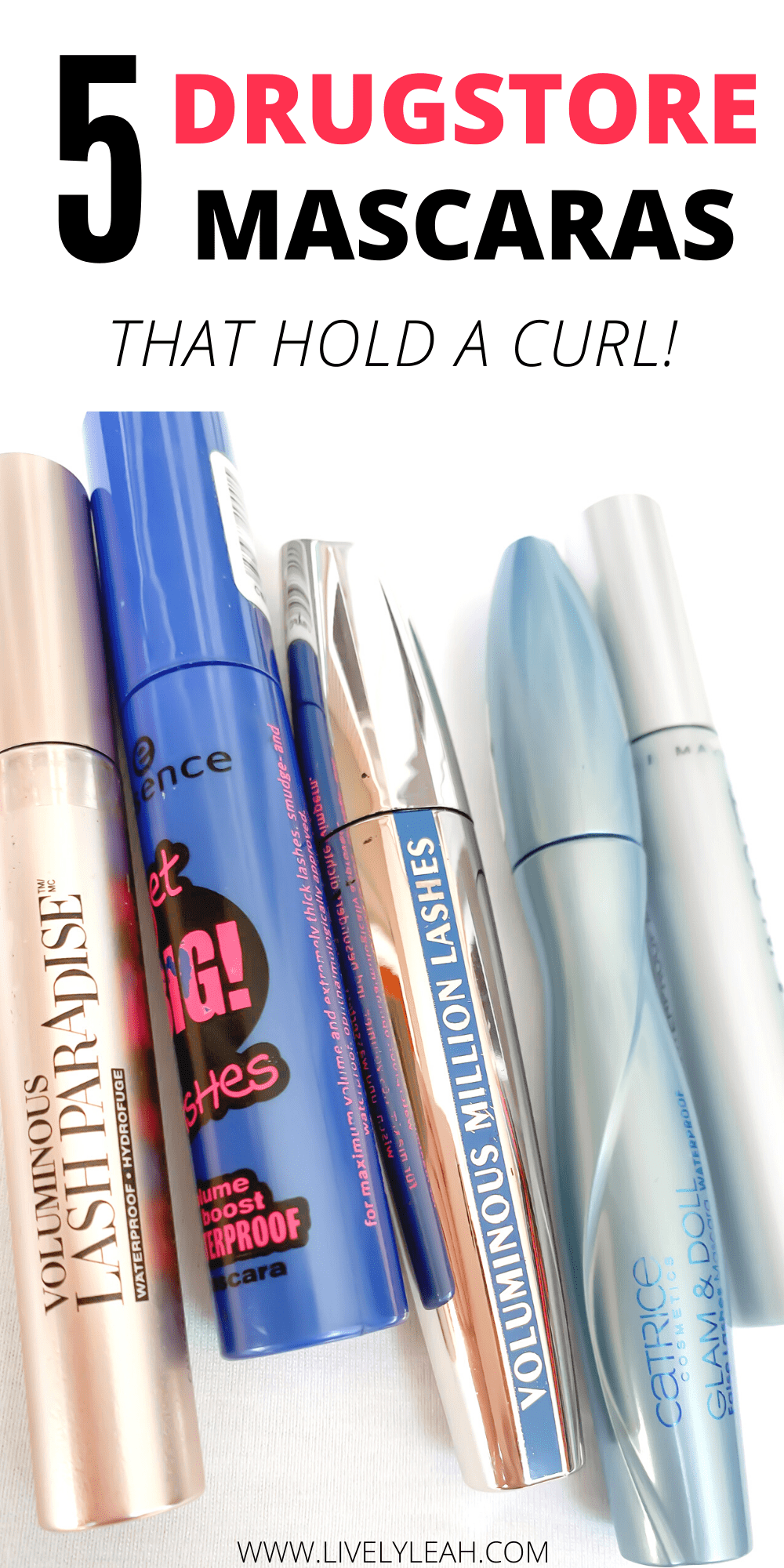 5 Drugstore Mascaras That Hold A Curl