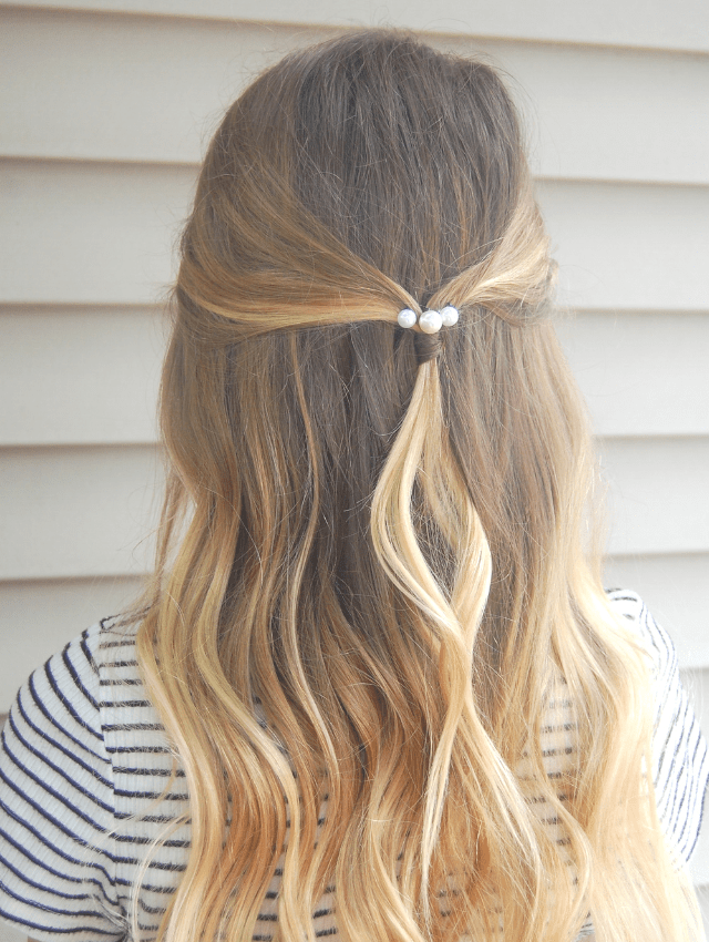 Pearl bobby pin hairstyles